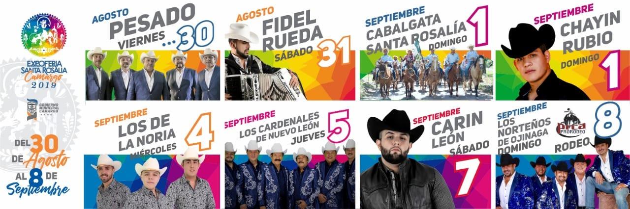 Expo Feria Santa Rosalía