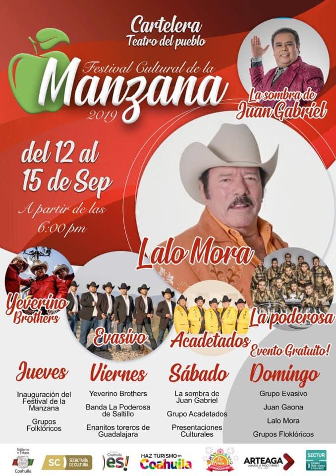 Feria de la Manzana Arteaga, Coahuila