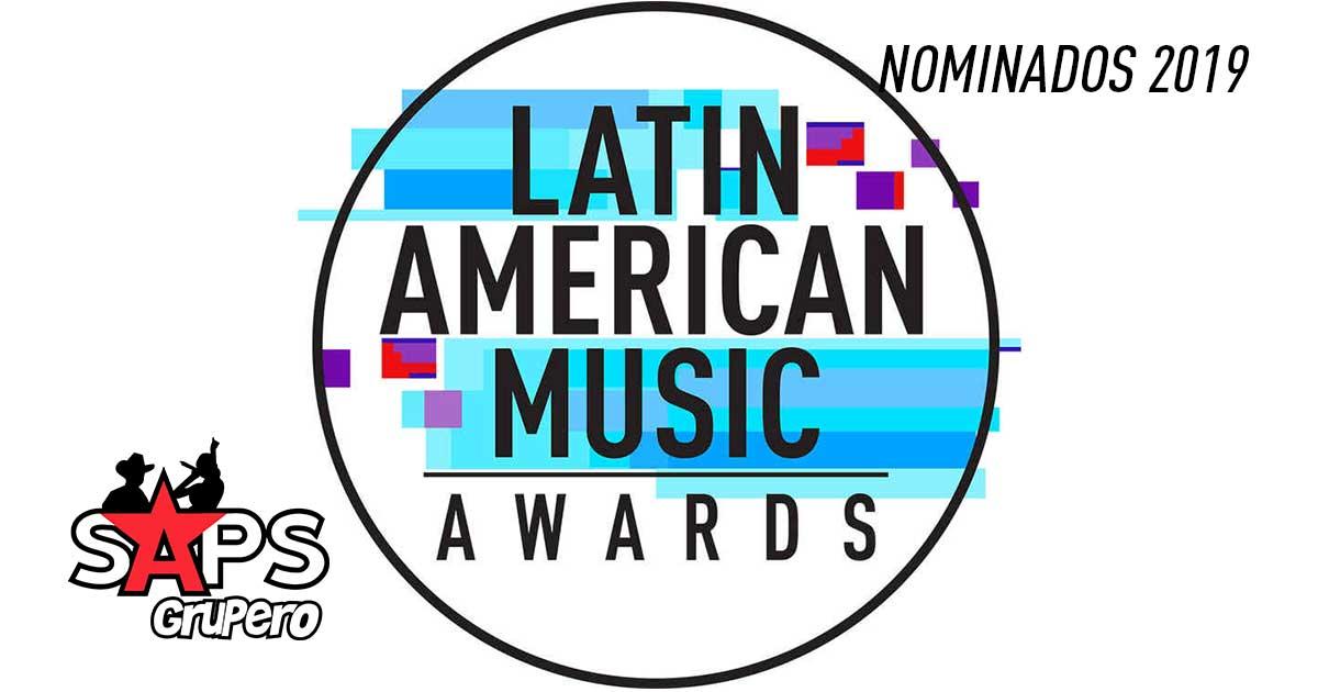 Latin AMAs 2019, nominados