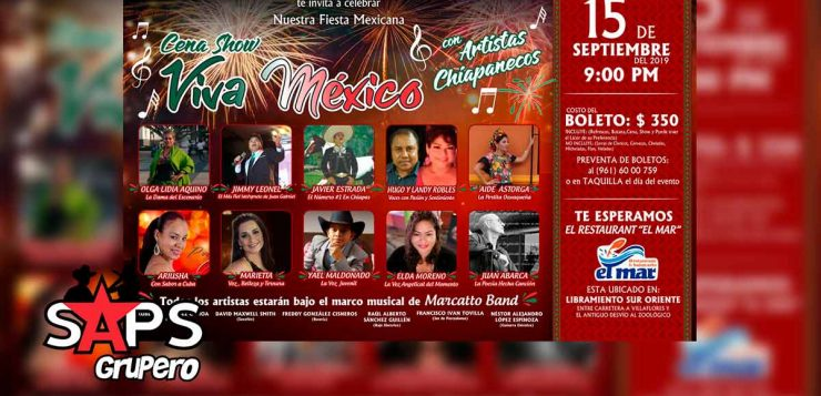 Viva México Cena Show