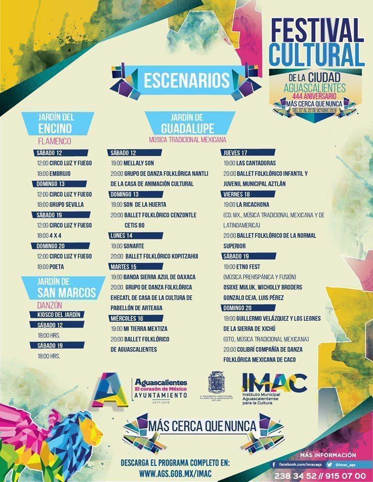 Festival Cultural, Aguascalientes
