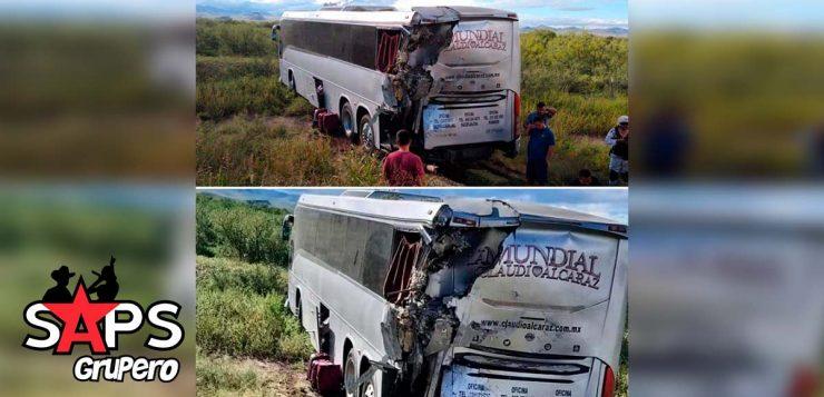 Claudio Alcaraz sufre accidente automovilístico