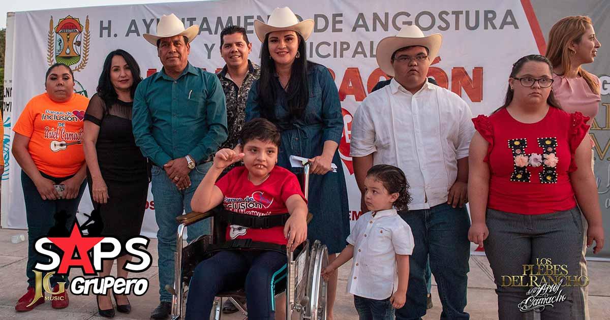 Ariel Camacho, Parque Inclusión