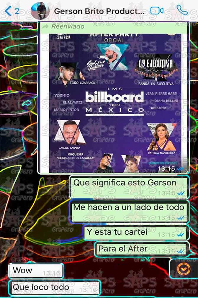 Fraude y mentira de los Billboard Latin Music Showcase México