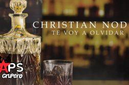 TE VOY A OLVIDAR, CHRISTIAN NODAL
