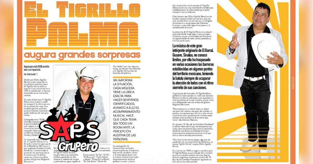 El Tigrillo Palma, La Gorda Magazine
