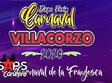 Expo Feria Carnaval Villacorzo 2020, cartelera oficial