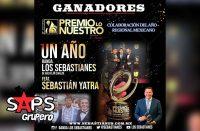 Banda Los Sebastianes, Premio Lo Nuestro 2020