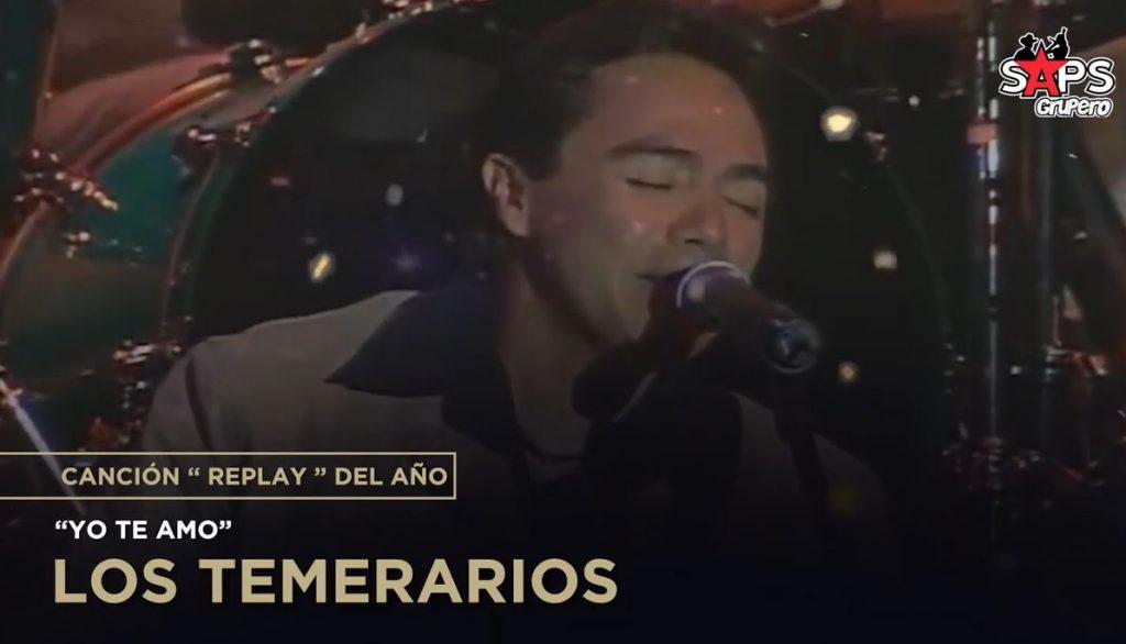 Canción Replay del Año, Los Temerarios, Yo Te Amo