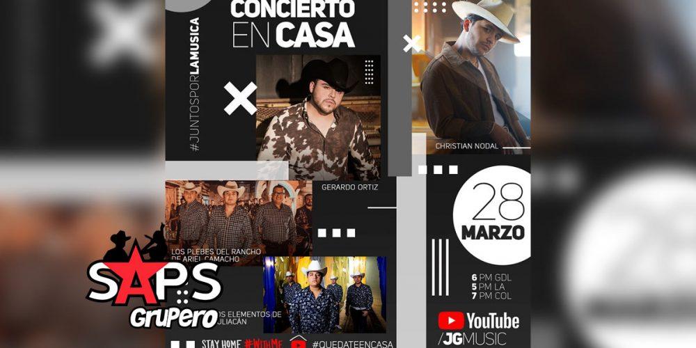 Los Plebes del Rancho, Christian Nodal, Gerardo Ortiz y Los Elementos de Culiacán