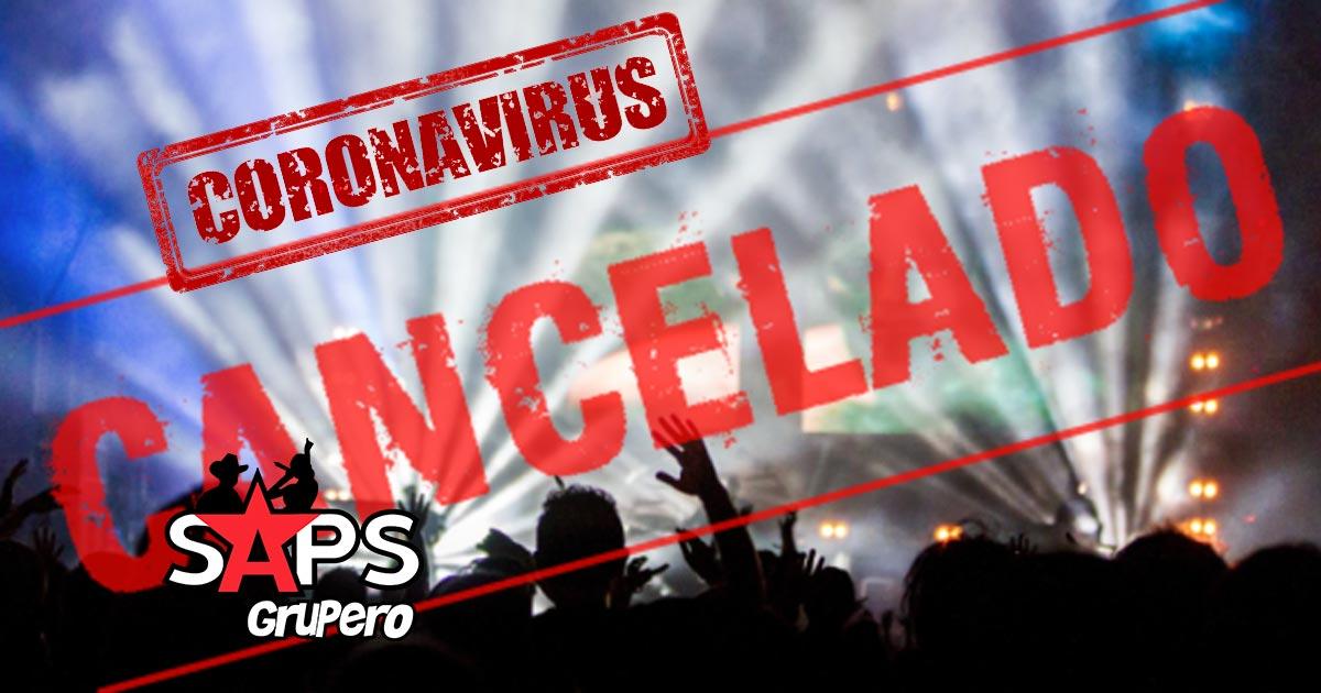 Ferias, conciertos, cancelado
