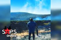 Pepe Aguilar, incendio