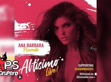 Ana Bárbara - Altísimo Live