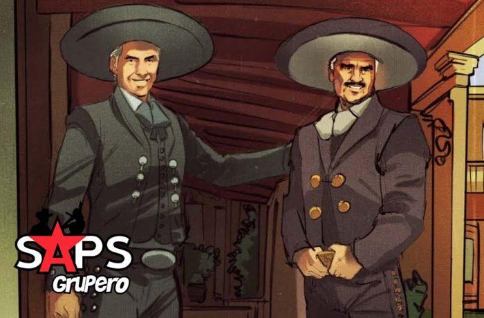 Te Mentí, Alejandro Fernández, Vicente Fernández