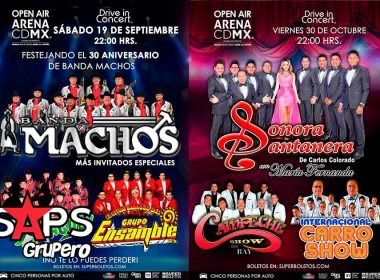 Auto Conciertos, Arena CDMX