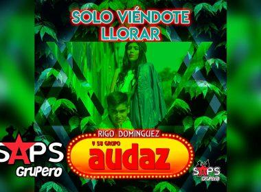 Letra Solo Viéndote Llorar, Rigo Domínguez y su Grupo Audaz
