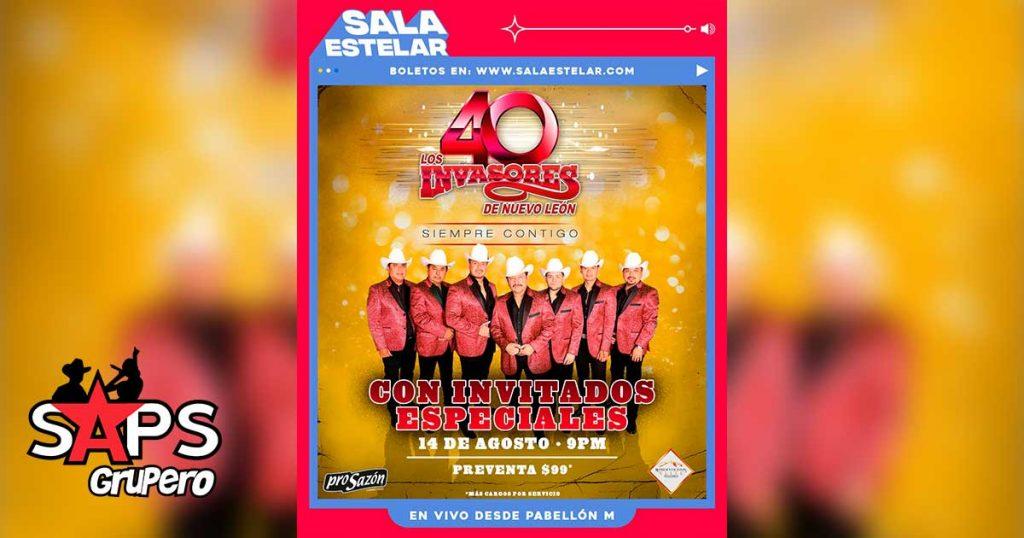 Los Invasores De Nuevo León ofrecerán concierto digital