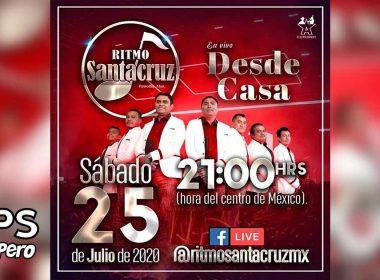 Ritmo Santacruz ofrecerá concierto en Facebook Live
