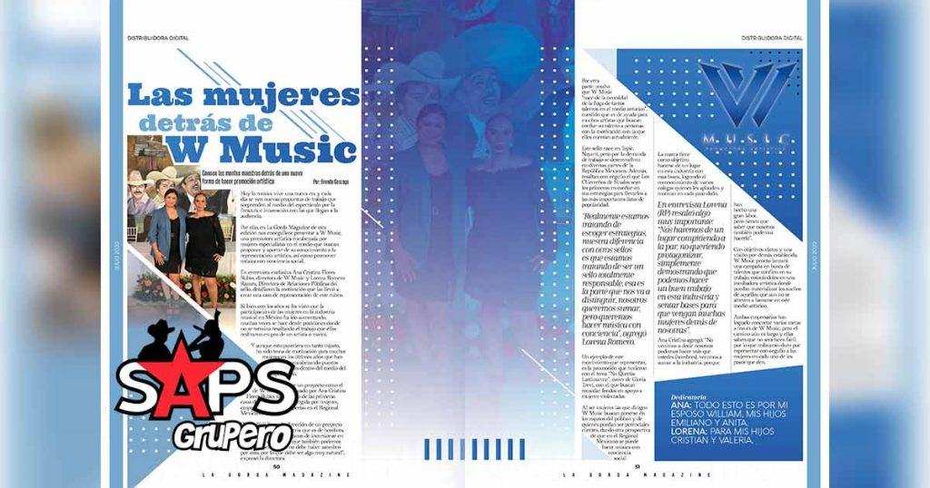 W Music La Gorda Magazine