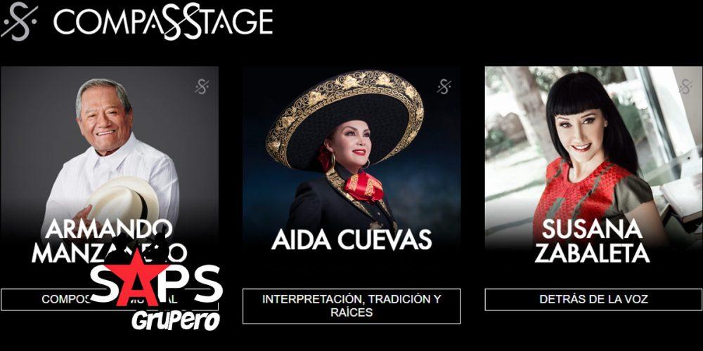 Susana Zabaleta, Aída Cuevas, Armando Manzanero