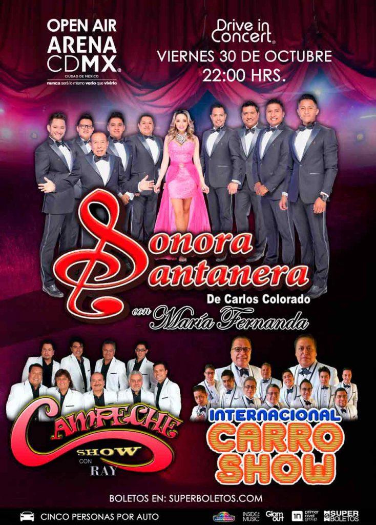 Arena CDMX, Auto Conciertos