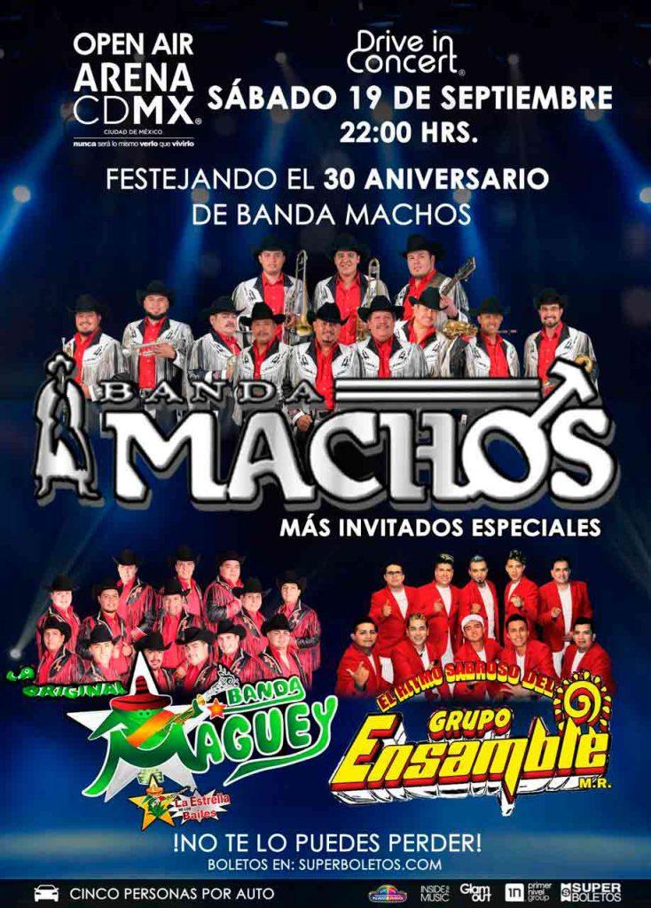 Auto Conciertos Arena CDMX