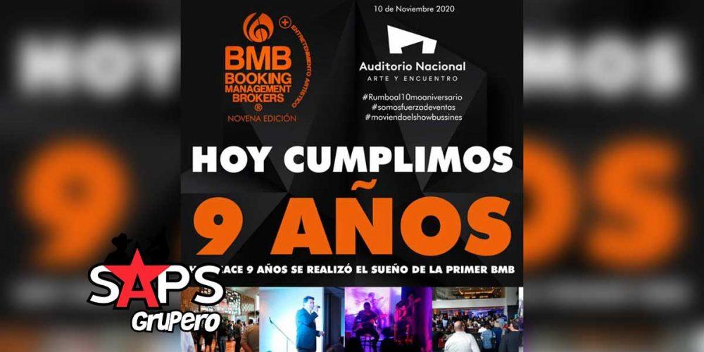 BMB, noveno aniversario