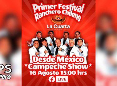 """Campeche Show con Ray en el 5º programa de El Festival Ranchero """"La Cuarta"""""""