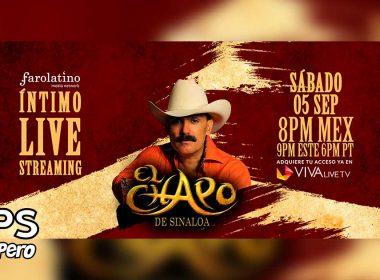 El Chapo De Sinaloa ofrecerá concierto Live Streaming desde su rancho