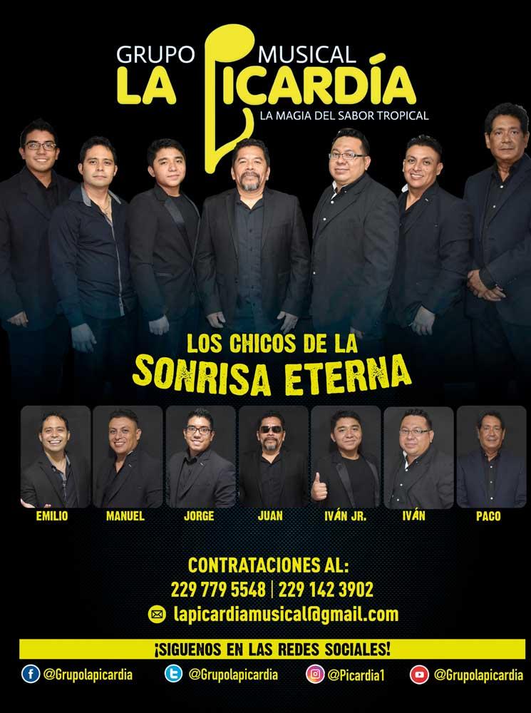 Grupo La Picardía, booking La Gorda Magazine