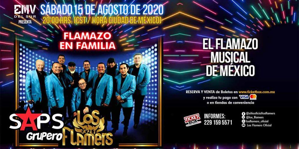 """Los Flamers se preparan para su concierto virtual """"Flamazo En Familia"""""""