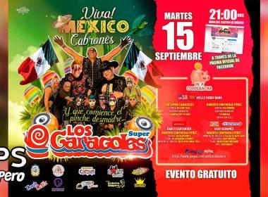 """Los Super Caracoles celebrarán el 15 de septiembre con un concierto """"De A Cooperacha"""""""