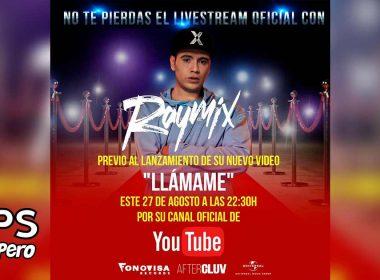 """Raymix le canta al amor en un su nuevo sencillo """"Llámame"""""""