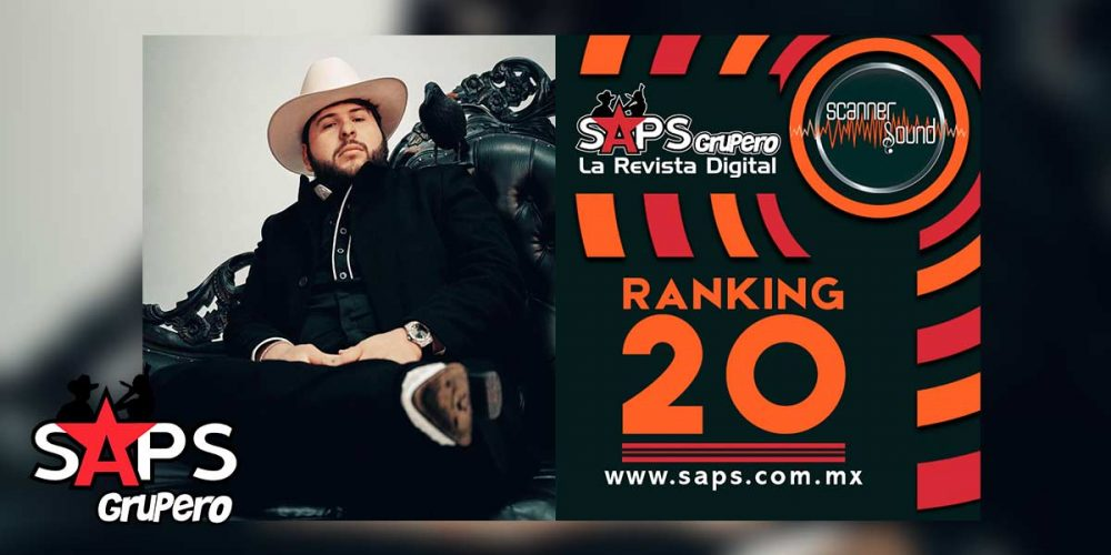 TOP 20 MÉXICO Scanner Sound Grupo