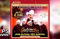 """""""Don Chayo"""" se despide de Los Cardenales De Nuevo León en un último concierto en vivo"""