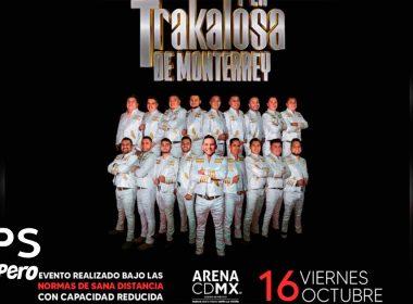 Edwin Luna Y La Trakalosa De Monterrey ofrecerán concierto en la Arena CDMX