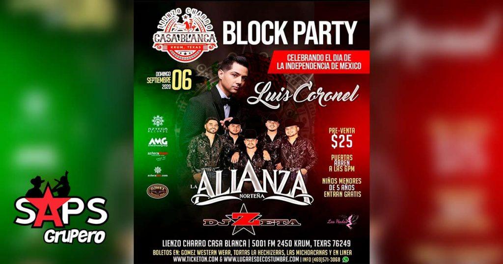 Luis Coronel ofrecerá concierto en Texas para celebrar el Día de la Independencia de México