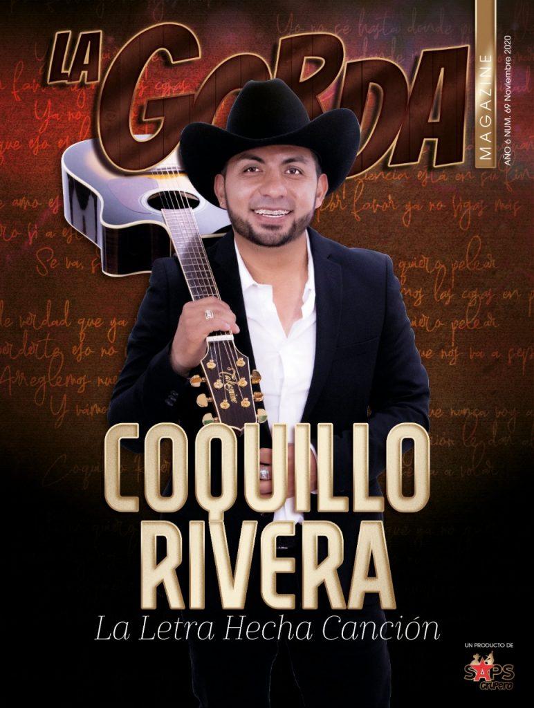 Coquillo Rivera, portada La Gorda Magazine Noviembre 2020