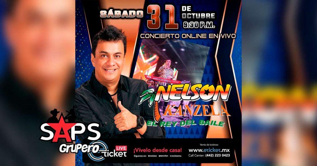 Nelson Kanzela ofrecerá concierto online