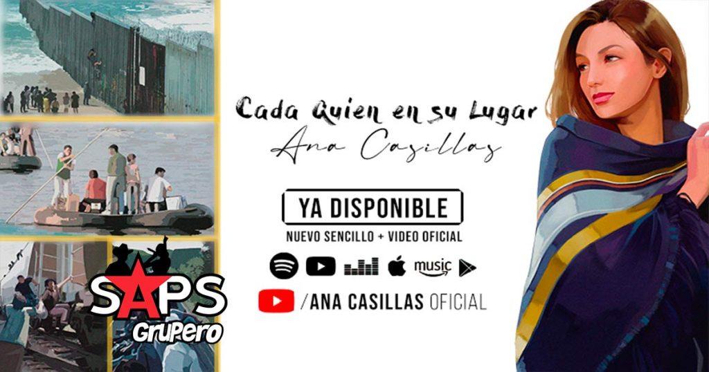 Letra Cada Quien En Su Lugar – Ana Casillas