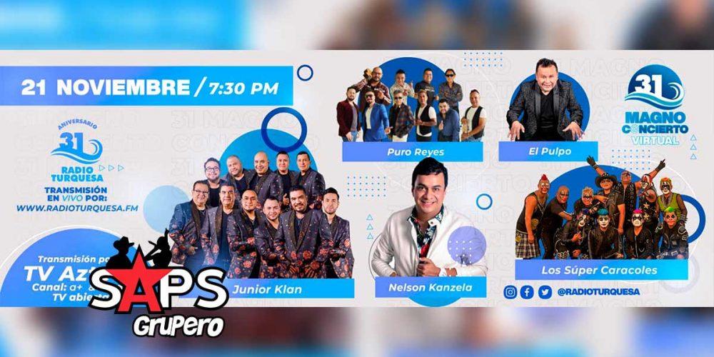 """Radio Turquesa festejará 31 años con un """"Magno Concierto Virtual"""""""