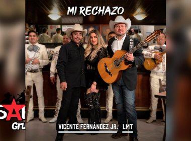 Letra Mi Rechazo – Vicente Fernández Jr. ft LMT