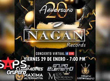 Nagan Records celebra su 20 aniversario con concierto virtual