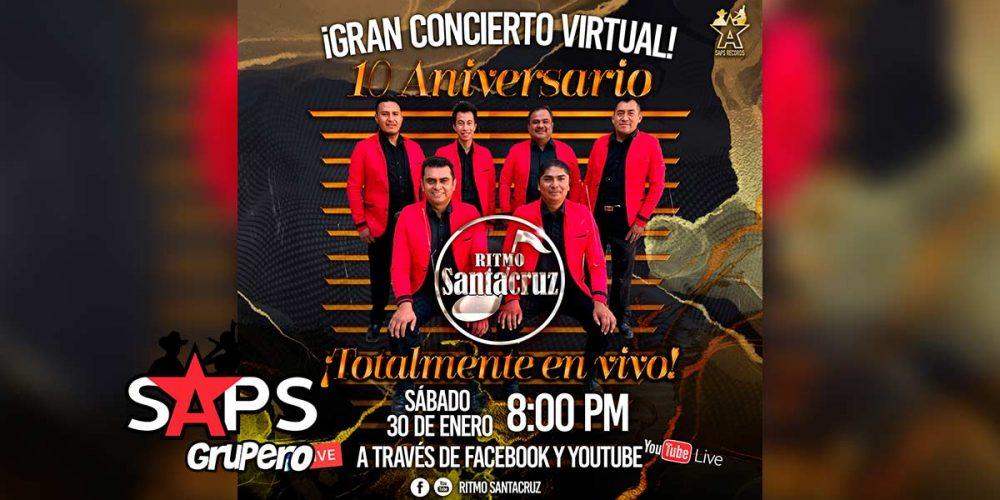 Ritmo Santacruz celebra 10 años de trayectoria musical con concierto virtual