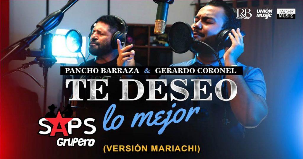 """Gerardo Coronel """"El Jerry"""" y Pancho Barraza reversionan """"Te Deseo Lo Mejor"""""""