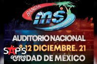 Banda MS, Auditorio Nacional