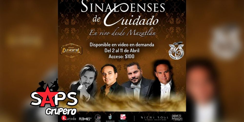 Sinaloenses de Cuidado en vivo desde Mazatlán